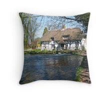 Alresford Fulling Mill Throw Pillow
