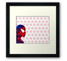 "A Splash of Heroism: ""Spider-Man"" Framed Print"