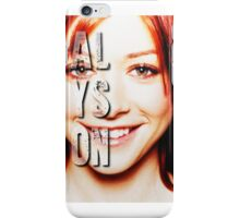 ALyson Hannigan  iPhone Case/Skin
