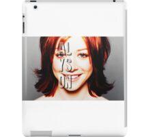 ALyson Hannigan  iPad Case/Skin