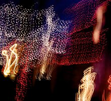Suburb Christmas Light Series - The Shepherd's Company by David J. Hudson