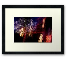 Suburb Christmas Light Series - The Shepherd's Company Framed Print