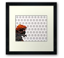 "A Splash of Heroism: ""Black Widow"" Framed Print"