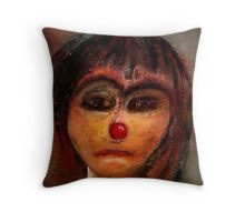 the red nose Throw Pillow