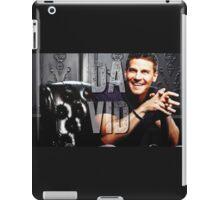 Dvid Boreanaz iPad Case/Skin