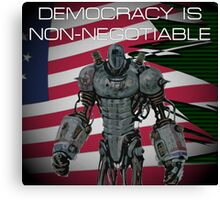 Fallout 3 | Liberty Prime (WITH QUOTE) Canvas Print
