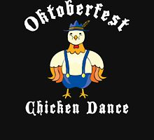 Oktoberfest Chicken Dance Women's Fitted Scoop T-Shirt