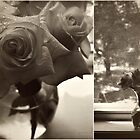 roses on the window sill by Angel Warda