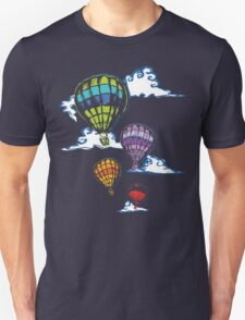 Hot-air Balloons in the Evening  Unisex T-Shirt