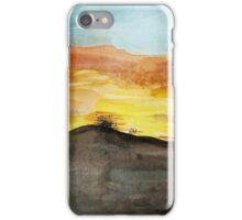 Watercolor Sunset iPhone Case/Skin