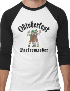 Oktoberfest Farfromsober Men's Baseball ¾ T-Shirt