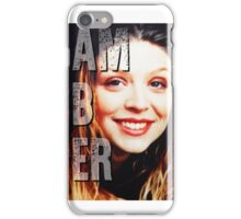 Amber Benson iPhone Case/Skin