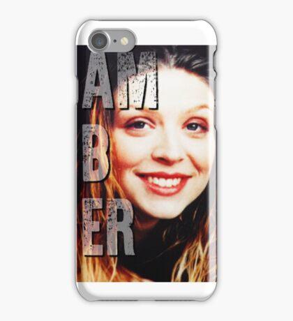 Amber Benson iPhone Case/Skin