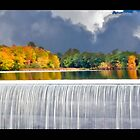 The Falls In Autumn by TDSwhite