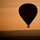 Balloon Safari, Masai Mara, Kenya by Andrew To