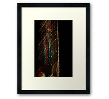 Suburb Christmas Light Series -  Xmas Backbone Framed Print