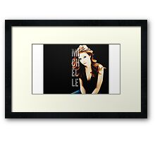 Michelle Trachtenberg Framed Print