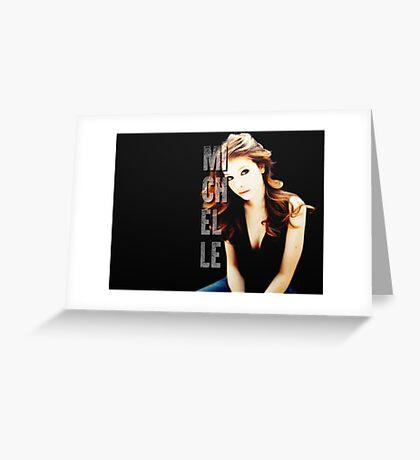 Michelle Trachtenberg Greeting Card