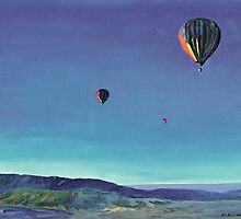 Balloons Over San Diego County by RDRiccoboni