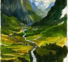 The Hidden Valley by BohemianWeasel
