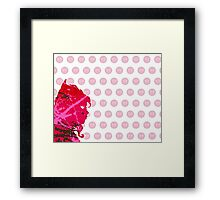 "A Splash of Heroism: ""Scarlet Witch"" Framed Print"