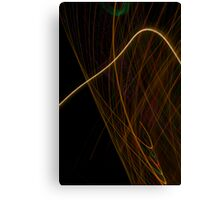 Suburb Christmas Light Series - Xmas Hook Canvas Print