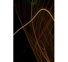 Suburb Christmas Light Series - Xmas Hook Photographic Print