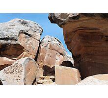 Rocks near South Broadway Photographic Print