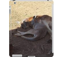 Sleepy 'Roos iPad Case/Skin
