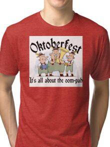 Funny Oktoberfest Tri-blend T-Shirt