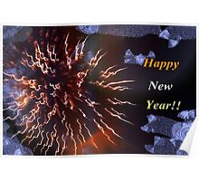 Have a blast this new year! Poster