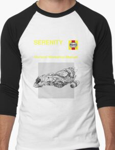 Serenity - Owners' Manual Men's Baseball ¾ T-Shirt