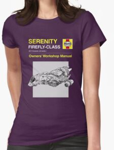 Serenity - Owners' Manual Womens Fitted T-Shirt