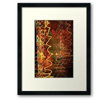 Suburb Christmas Light Series - Xmas Hangover Framed Print