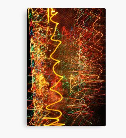 Suburb Christmas Light Series - Xmas Hangover Canvas Print