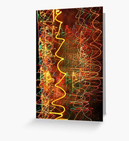 Suburb Christmas Light Series - Xmas Hangover Greeting Card