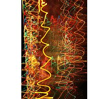 Suburb Christmas Light Series - Xmas Hangover Photographic Print