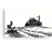 OLD HOFFMAN HOUSE ... Canvas Print