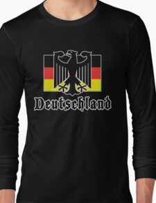 "Germany ""Deutschland"" T-Shirt Long Sleeve T-Shirt"