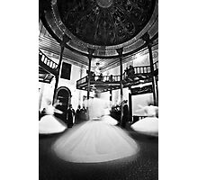Whirling dervishes preserving Safi tradition in Turkey Photographic Print
