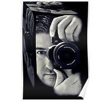 Self-portrait in the box Poster
