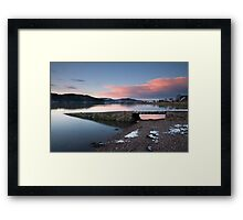 Kippford Sunset Framed Print