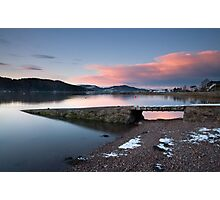 Kippford Sunset Photographic Print