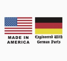 Made In America With German Parts Baby Tee