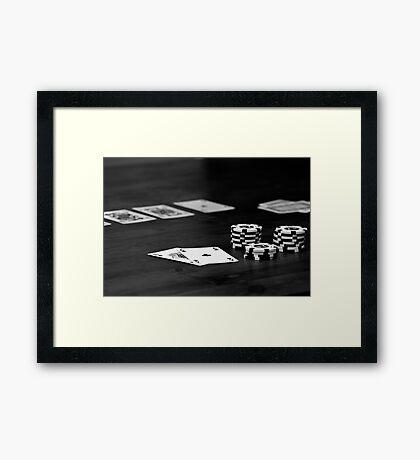 All In Framed Print