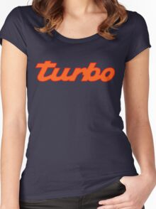 turbo shirt Women's Fitted Scoop T-Shirt