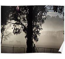 misty paddock Poster