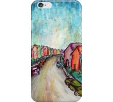 The Street Near My Street iPhone Case/Skin