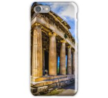 Thissio Athens Greece iPhone Case/Skin
