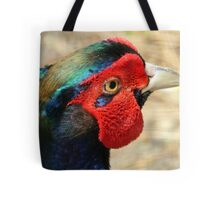 Metallic Highlights - Common Pheasant - NZ Tote Bag